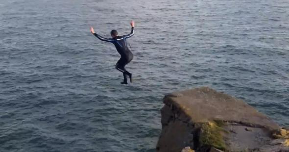 An auld jump